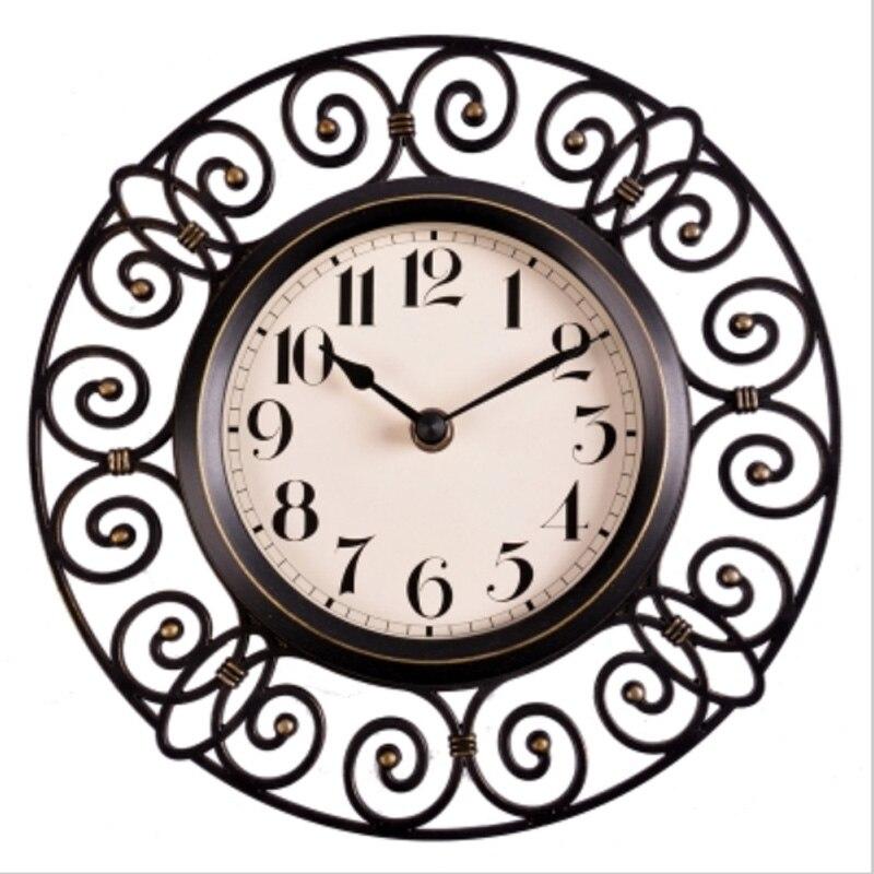 10 Zoll Handwerk Vintage Dekorative Wanduhr Modernes Design Stille Quartz Dekoration Einzigartige Wanduhren UhrenChina