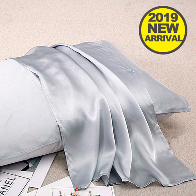 Luxury Covers Silk Pillow Case 100% Polyester Satin Pillowcase Mulberry Bed Pillows Cases Multicolor Pillowcases 51*76cm Soft