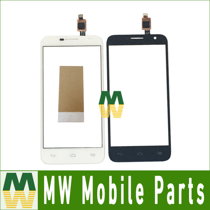 1PC/ Lot <font><b>For</b></font> <font><b>Alcatel</b></font> One OT6016 <font><b>6016D</b></font> 6016A 6016E 6016X Touch Panel Touch Screen Digitizer Black White Color With Tape image