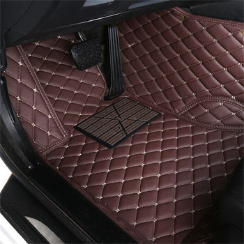 Auto car floor Foot mat For skoda superb 2017 3 kodiaq yeti octavia rs 1 fabia 3 karoq rapid 2017 car accessories