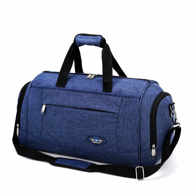 992368ea2f8 2018 New Style Nylon Waterproof Gym Bag Large Capacity Women Sports Bag For Fitness  Outdoor Travel