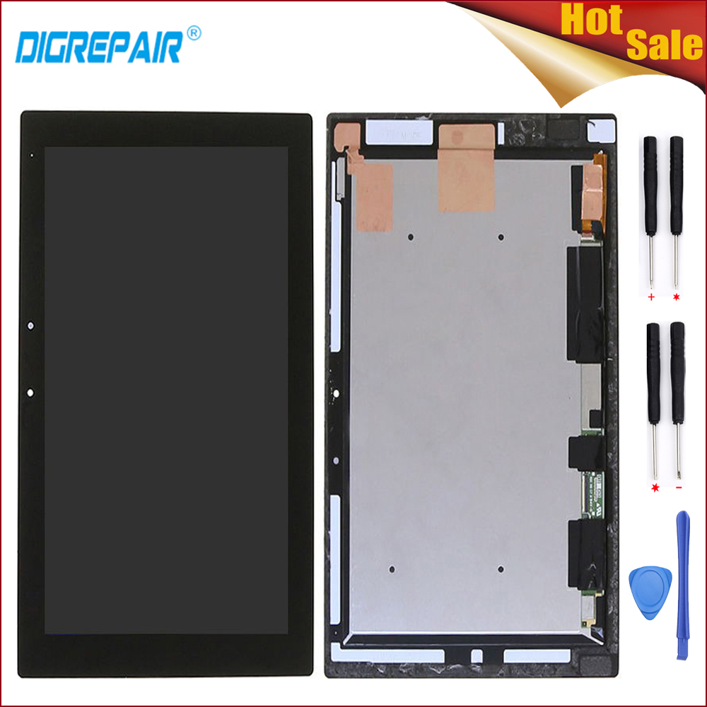 10 1 Black For Sony Tablet Xperia Z2 SGP511 SGP512 SGP521 SGP541 LCD Display Digitizer Touch