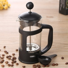 Coffee Press Tea Filter Plunger 350ml French Press Heat Resistant Glass Coffee Maker Pot Home Coffee Accessories