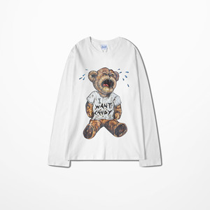 Image 4 - Kanye החוף המערבי T חולצה ארוך שרוול גברים היפ הופ גבוהה רחוב מואר כדי פופ Tane של הדפסת ויקינגים חולצה דרייק נשמות טי חולצה Homme