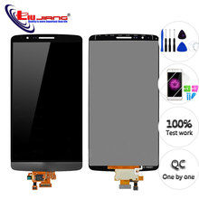 Original 5.5 Screen for LG G3 D850 D855 D858 LCD Display Touch Screen Digitizer Assembly Replacement Repair parts for LG G3 LCD new for lg g pad 10 1 v700 vk700 lcd display digitizer touch screen glass assembly black repairment parts