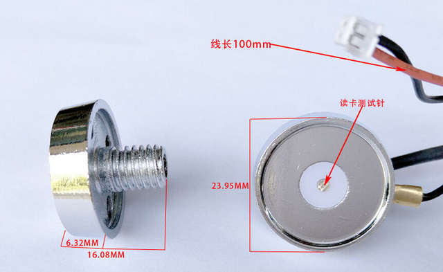 100pcs ds9092 ds1990a f5 tm key card magnetic ibutton reader ibutton