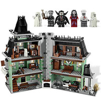 Monster Fighter The Haunted Soul House Model Building Block Kits 2141pcs Brick Toy Gift Compatible With Legoings 10228