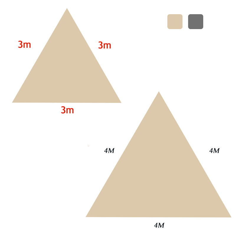 Image 5 - Triangle Sun Shelter Sunshade Protection Outdoor Canopy Garden Patio Pool Shade Sail Awning Camping Picnic Tent-in Sun Shelter from Sports & Entertainment