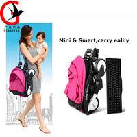 Portable Baby Stroller Lightly Foldable Pram Baby Stroller Aby Stroller Folding Baby Carriage BDB XF