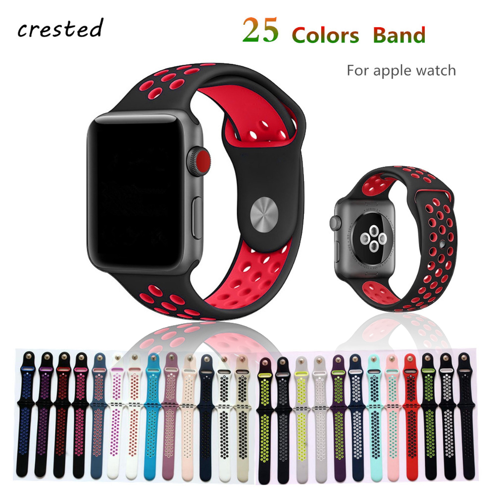 Silicone strap for apple watch band 42mm 38mm bracelet sport wrist watch belt Rubber watchband for iwatch 3/2/1 Nike+metal knot sport silicone strap case for apple watch band 42mm 38mm bracelet nike watchband protective case for iwatch 3 2 1 wrist belt