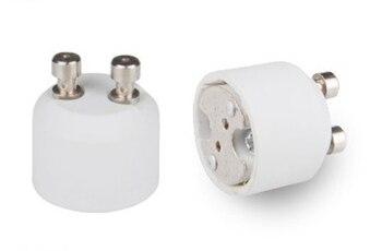 (SPL-099-L5)100pcs/lot Ceramic lamp socket GU10 to MR16  lamp adapter CE & RoHS & UL lamp base MR16 to GU10 adapter converter