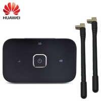 Huawei desbloqueado 4g mifi router r216 Vodafone 4G LTE wifi Router con par adaptador de antena mobile hotspot inalámbrico wifi router r216H