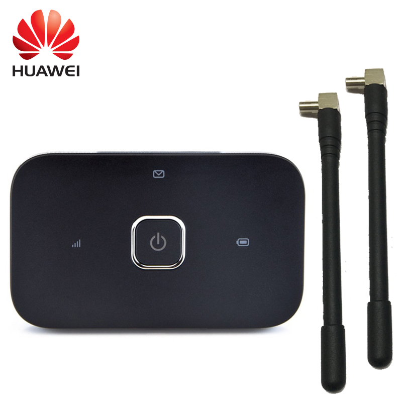 US $34 8 40% OFF|huawei unlocked 4g mifi router r216 Vodafone 4G LTE wifi  Router with pair antenna dongle mobile hotspot wireless wifi router-in  3G/4G