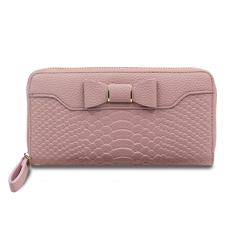 все цены на 2018 New Wallet For Women Wallet Long Lovely Pu Leather For Women Purse Female Coin Card Clutch Big Capacity For Women Purse Wom