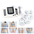 JR-309 Electrical Stimulator Body Relax Muscle Slimming Therapy Massager Pulse Tens Acupuncture +20 Electrode Pads Health Care