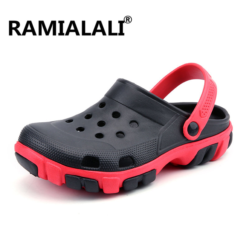 Ramialali Breathable Water Quick-dry Men Shoes 2019 Summer B