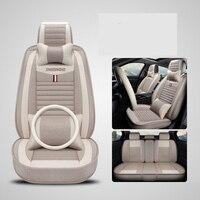 Universal flax fiber car seat cover auto seats covers for Chery a1 arrizo chery a3 e3 fulwin2 a13 j2 indis tiggo 2 3 tiggo5