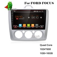 For 9 inch Pure Android Car DVD GPS for Ford focus 2 Android with WiFi/GPS Navi/FM/AM Radio/Bluetooth/Multimedia/USB/SD/ AUX