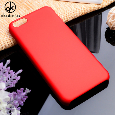 AKABEILA Phone Cases For For Apple iPhone 5C 5 6 5s 55s SE 5SE 4 4s 44s 6s 7 Plus Iphone5c Iphone6 Plastic Matte Bag Covers Pakistan