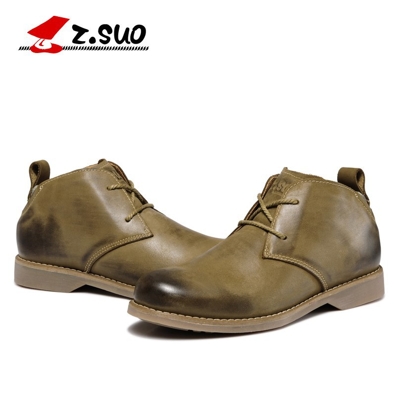 British style Men Boots Leather Shoes Mens Solid Cow Muscle Flat With Martin Boots Spring Autumn Male Zapatos Hombre SG046 2016 new spring autumn breathable casual shoes for men british style fashion men flat shoes blade mens trainers zapatos hombre