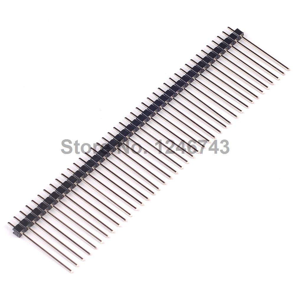 10PCS 1 * 40P Single Row Needle Straight Needle High 25mm Pitch 2.54mm
