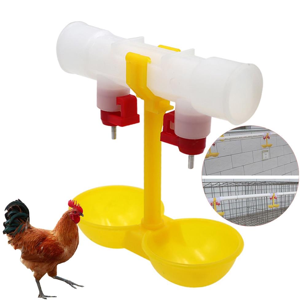 "Chicken Drinker Cups 5 waterer poultry hen chick bird 3//8/"" thread"