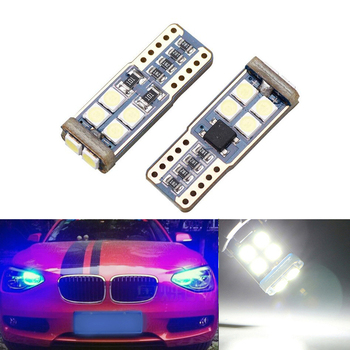 BOAOSI 2x Canbus Car LED T10 W5W 10LED Parking Light For BMW E46 E39 E91 E92 E93 E28 E61 F11 E63 E64 E84 E83 E70 E53 E71 E60 image