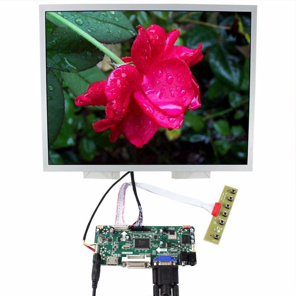 HDMI DVI VGA Audio LCD Controller Board 15 LQ150X1LG96 1024x768 LCD Screen hdmi dvi vga control board 8 9inch n089l6 1024 600 lcd panel touch screen n089l6 l02 hsd089ifw1 b089aw01 v3 ltn089nt01