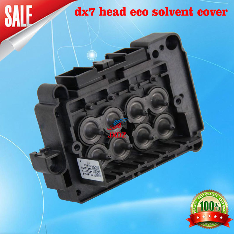 Free shipping!! DX7 head eco solvent ink cover  F189010 Dx7 printhead cover dx7