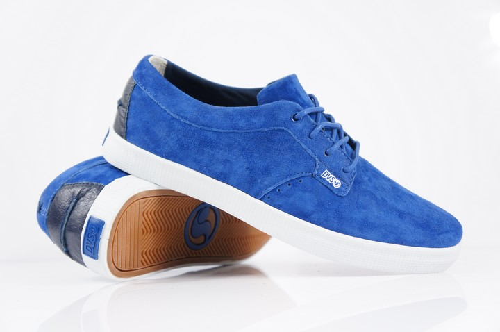 ФОТО 2016  DVS EL PORTO teenagers kids skate Shoes Blue Anti-Fur Street boy Shock-Absorbant Footwear