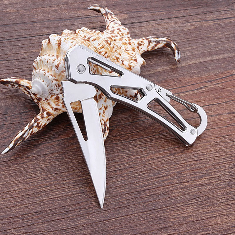 Self Defense Folding Pocket Knife Outdoor Camping Survival Multi Functional Transformer Knife EDC Tactical With Packet Knife