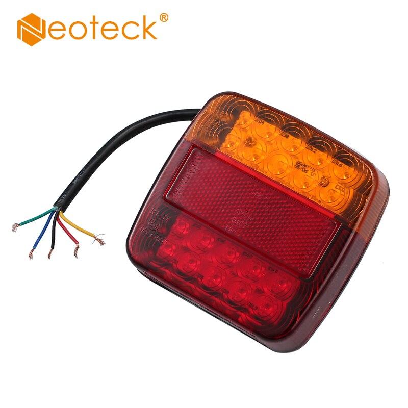 Us 16 99 35 Off Pair Of 12v Led Rear Lights Lamps 5 Function Light Bulb Trailer Light For Truck Van Caravan In Led Bulbs Tubes From Lights