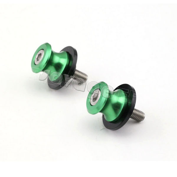 CNC Aluminium Achterbrug Spoelen slider 10mm stand schroeven Voor - Motoraccessoires en onderdelen