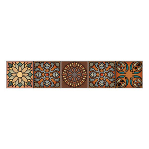 Image 4 - Wall stickers home decor living room Vintage mandala style Affixed Decorative Self adhesive Wallpaper Home Decoration 2019