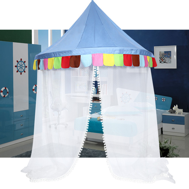 Hanging Bed Canopy Toys Tents Bed Canopy Round Hoop Netting Children Play Tent Bed Canopy Set  sc 1 st  AliExpress.com : play tents for beds - memphite.com