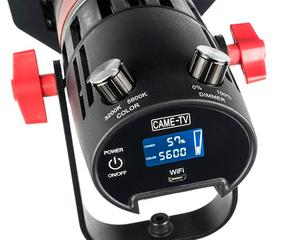 Image 4 - 2 pces CAME TV boltzen 55w fresnel focusable led bicolor kit F 55S 2KIT led luz de vídeo