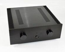 CJ-WA122 Black Aluminum Chassis Large Audio Amplifier Housing /Class A Power Amp Case /Preamplifie Enclosurer