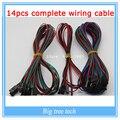 1 лот 14 шт. в комплекте соединительный кабель для 3d-принтер Reprap рампы 1.4 концевыми выключателями термисторы двигателя littlebits