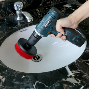 Image 2 - FORAUTO 3 sztuk/zestaw środek do pielęgnacji karoserii zestaw szczotek samochodowych z twardym włosiem do wiertarki Scrubber Auto Detailing czyścik samochodowy urządzenia do oczyszczania samochodów akcesoria