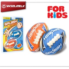 WINMAX Set of Two Mini Lightning Beach Rugby Child's Toys Beach Penny FootBall Small Inflatable Beach Balls WMB10491