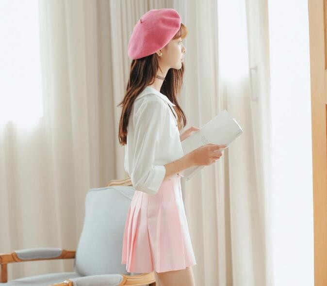 HTB1fmOFNVXXXXaQXXXXq6xXFXXXl - Summer American School Style Fashion Skirts