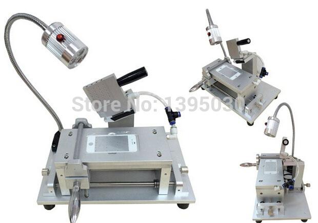 1PCS OCA Film Laminator Machine LCD polarizer film laminating machine dedicate for phone