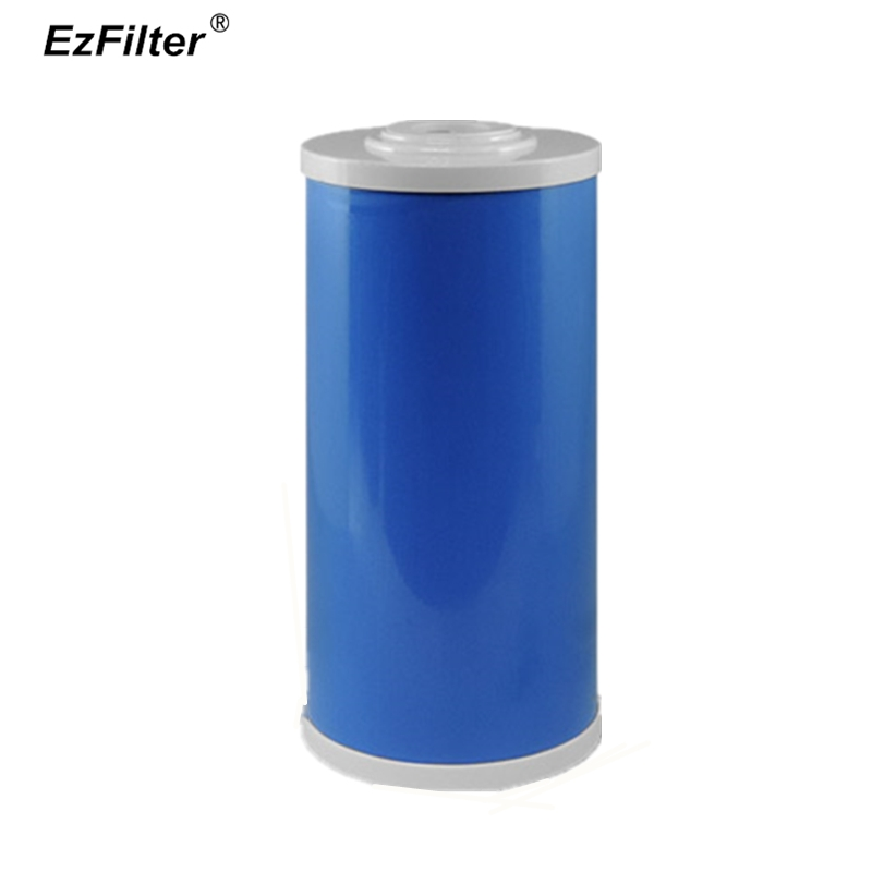 Granular Activated Carbon Filter Big Blue 10 Inch x 4.5 Whole House Replacement Water Filter 5 Micron GAC Jumbo Cartridge whole house water filter replacement cartridge granular coconut carbon filter 4 5 x 10 inch