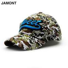 JAMONT Stylish Father and son's Graffiti Pattern Outdoor Camping Fishing Riding Hat Baseball Cap 9708