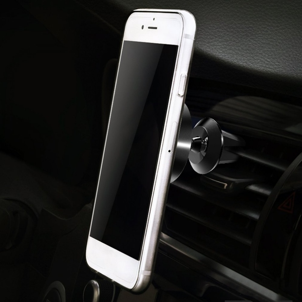 Universal Phone Holder Stand Air Vent Mount Magnetic Suction Car Phone Holder Cradle For GPS Devices 360 degree rotation