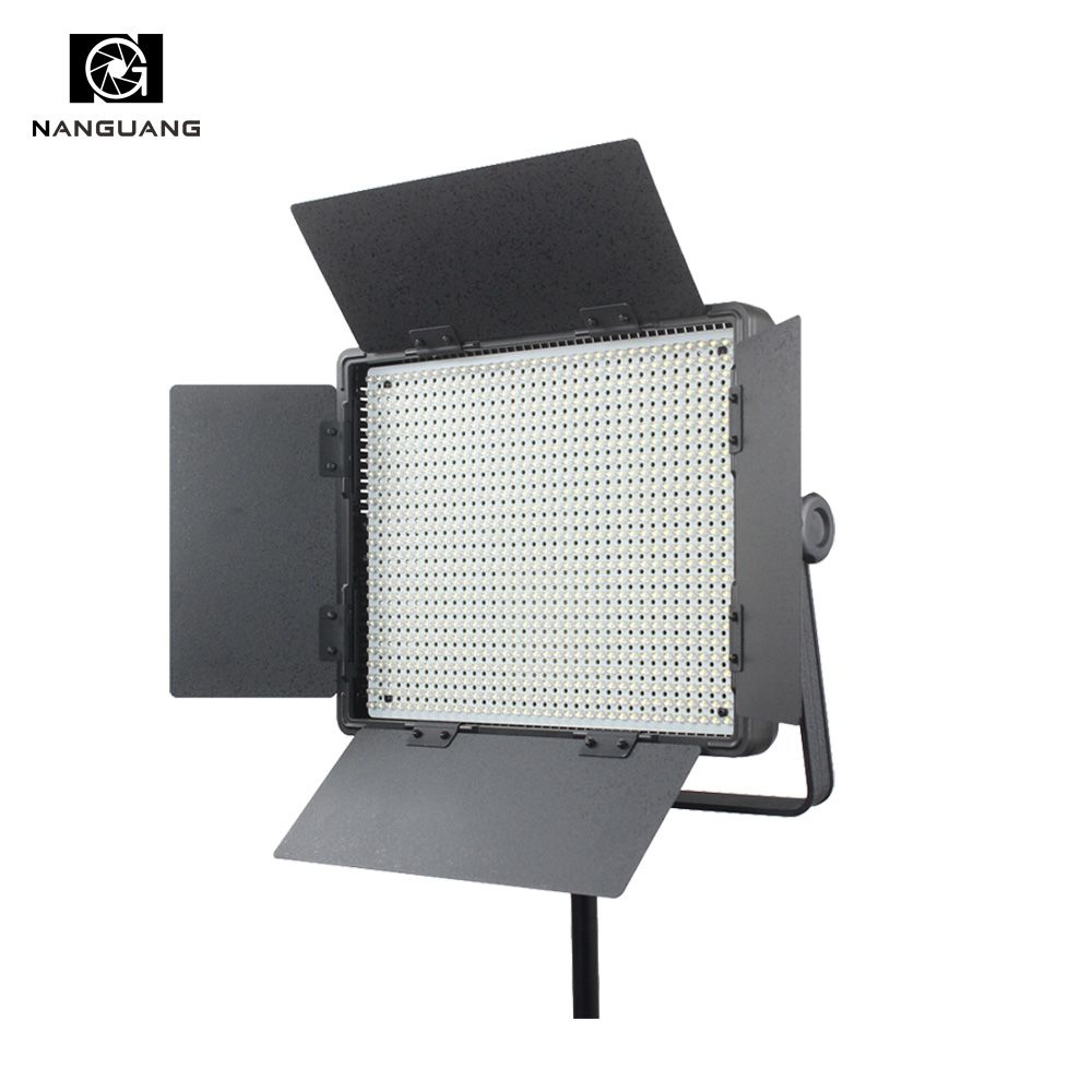 Nanguang CN-900SA 54W Пластик Портативный телевизор LED Video Light LED Студийный свет панели + V Крепление Батарейного Отсека + Light Bag для кино ТВ