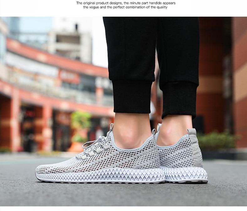 2019 Hollowing out Mesh Women Fashion Sneakers Men Sport Casual Shoes Flat Flying Knitting Women Trainers Men's Shoes XU025 (1 (13)
