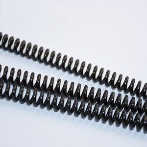 1 шт. Y Тип пружина черная марганцевая сталь давление пружина проволока диаметр 1,4/1,6 мм наружный диаметр 8-16 мм Длина 305 мм