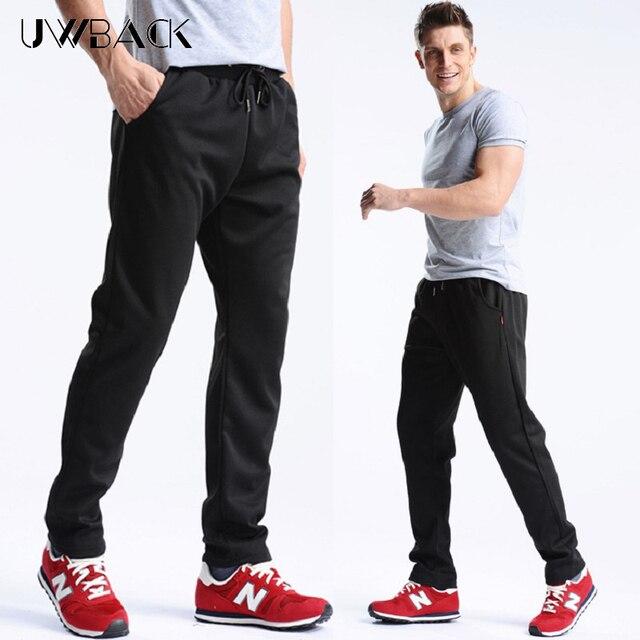 Uwback 2018 Summer Men Sweatpants Elastic Waist Plus Size 4XL Casual Pants Man Loose Soft Trousers Autumn Jagger Pants CAA329