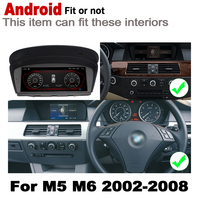 hd מסך מסך HD סטריאו 7.0 אנדרואיד עד GPS לרכב Navi מפה BMW M5 M6 E60 E64 2002 ~ 2008 CCC מקורי סגנון מולטימדיה נגן רדיו אוטומטי (2)